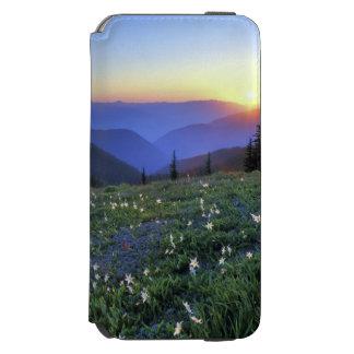 Por do sol do ponto de Obstruciton, olimpiadas NP, Capa Carteira Incipio Watson™ Para iPhone 6