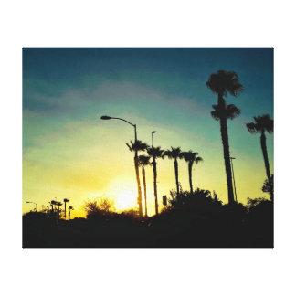 Por do sol na arizona