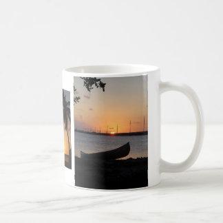 Pôr do sol nas chaves de Florida Caneca De Café