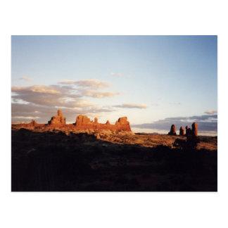 Por do sol nos arcos, Utá Cartão Postal