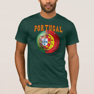 """Por Portugueses do Bola de """"Portugal"""" Tshirts"""