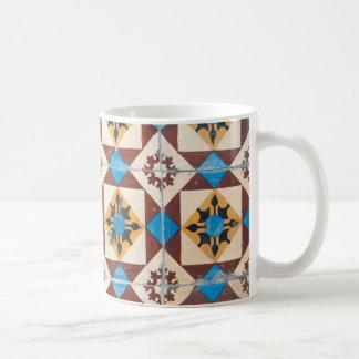 porcelana do azulejo de Portugal da decoração de Caneca De Café
