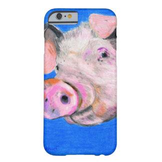 Porco cor-de-rosa capa barely there para iPhone 6