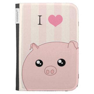 Porco cor-de-rosa carnudo bonito de Kawaii