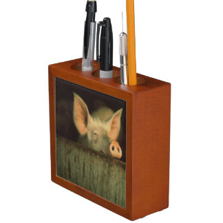 Porco na caneta