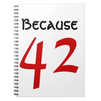 Porque 42 cadernos