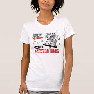 Porque a liberdade soa - humor de Politiclothes - Tshirt