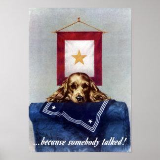 Porque alguém falou -- WW2 Poster