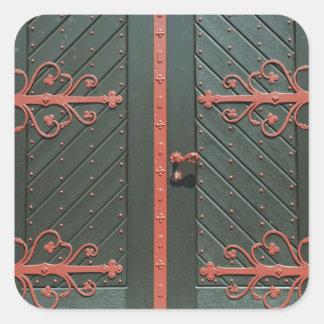 Porta Adesivo Quadrado