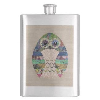 Porta Bebida Costume boémio do pássaro de Boho da coruja