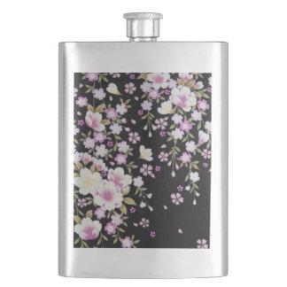 Porta Bebida Falln que conecta flores cor-de-rosa
