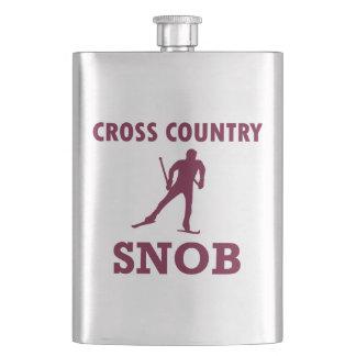 Porta Bebida Snobe do esqui do país transversal