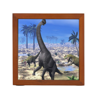 Porta Caneta Dinossauro de ataque do brachiosaurus do