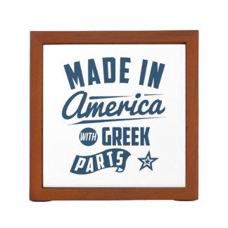 Porta Caneta Feito em América com peças gregas