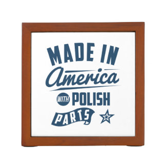 Porta-caneta Feito em América com peças polonesas