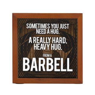 Porta Caneta Humor do Gym: Às vezes você precisa um abraço de