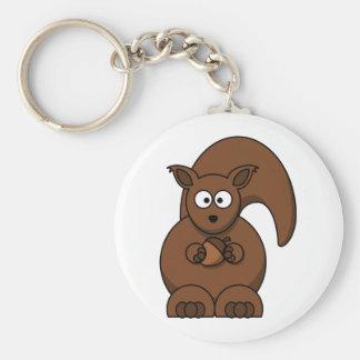 Porta-chaves a bom preço esquilo