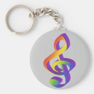 Porta-chaves de clave chaveiro