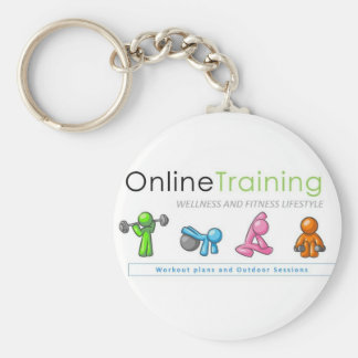 Porta-chaves de Online Training Fitness Lifestyle Chaveiro