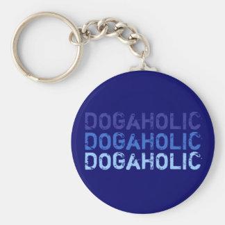 Porta-chaves DOGaHOLIC azul Chaveiro