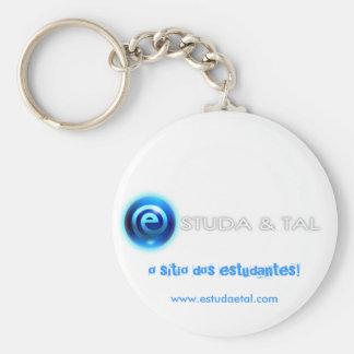 Porta-chaves ESTUDA&TAL Chaveiro