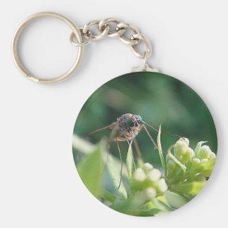 Porta-chaves mosquito trombeteiro chaveiro
