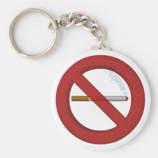 Porta-chaves não fumador chaveiros