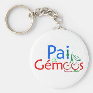 Porta-chaves Pai de Gémeos Chaveiro