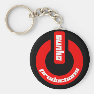Porta-chaves simples de Button Chaveiros