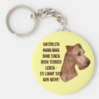 """Porta-chaves """"Terrier Irlandesa """" Chaveiro"""