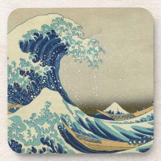 Porta-copo A grande onda fora de Kanagawa