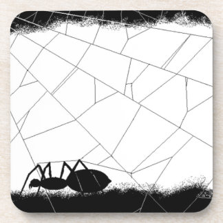 Porta-copo Aranha preta (design de AOM)