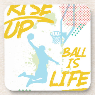 Porta-copo Aumente acima. A bola é vida. Treinador de Baller