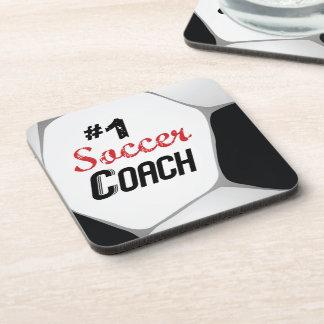 Porta-copo Bola do treinador do futebol #1 grande