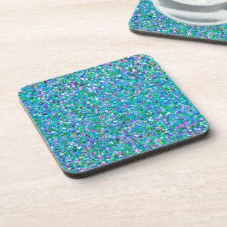 Porta-copo Brilho moderno do grão do mosaico multicolorido