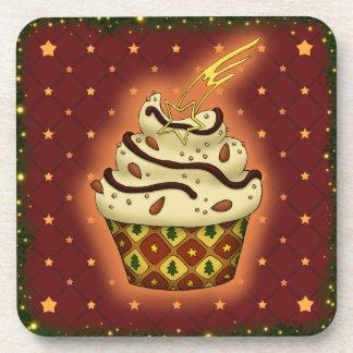 Porta-copo Cupcake delicada com amêndoas, chocolate