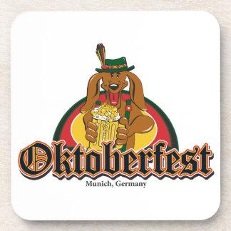 Porta-copo Dachshund de Oktoberfest