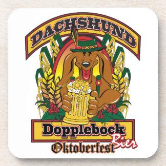 Porta-copo Dachshund de Oktoberfest Dopplebock