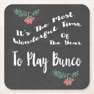 Porta-copo De Papel Quadrado A maioria de tempo de Wondeful para jogar Bunco