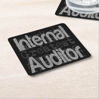 Porta-copo De Papel Quadrado Auditor interno Extraordinaire