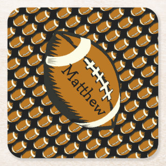 Porta-copo De Papel Quadrado Brown e portas copos de papel dos esportes pretos
