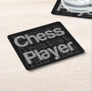 Porta-copo De Papel Quadrado Jogador de xadrez Extraordinaire