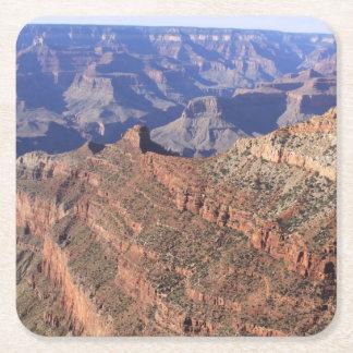 Porta-copo De Papel Quadrado Porta copos da bebida do Grand Canyon