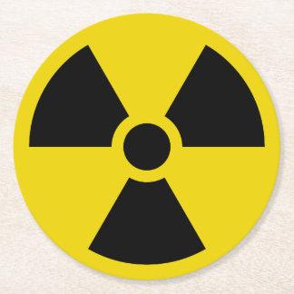 Porta-copo De Papel Redondo Radioativo
