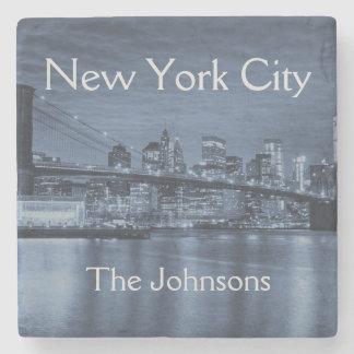 Porta-copo De Pedra A Nova Iorque personaliza esta skyline
