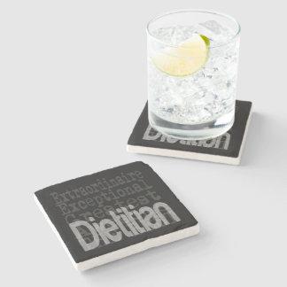 Porta-copo De Pedra Dietista Extraordinaire