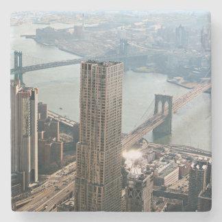Porta-copo De Pedra Opinião aérea de New York