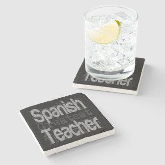 Porta-copo De Pedra Professor espanhol Extraordinaire