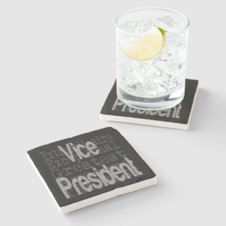 Porta-copo De Pedra Vice-presidente Extraordinaire