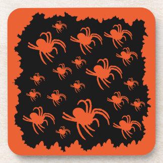 Porta-copo Design da aranha do Dia das Bruxas